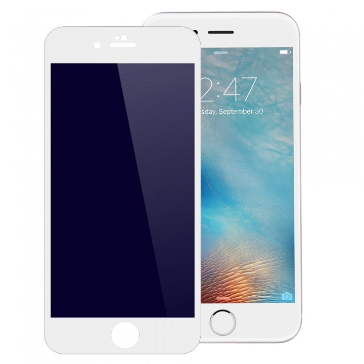 3D Full Cover Tempered Glass Phone Cases For iPhone 6 Plus 6S Plus Case Screen Protector Film Glass white 5.5inch