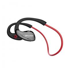 A880BL Sport Bluetooth Headphones Bluetooth 4.1 with AptX Wireless Sweatproof Headset Earphones black