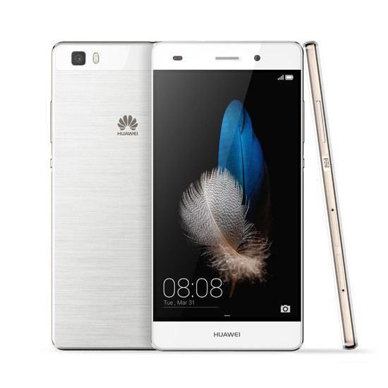 "HuaWei P8 Lite (ALE-L02) 4G LTE Cell Phone Android 5.0 5.0"" IPS 1280X720 2GB RAM 16GB ROM 13MP NFC White"
