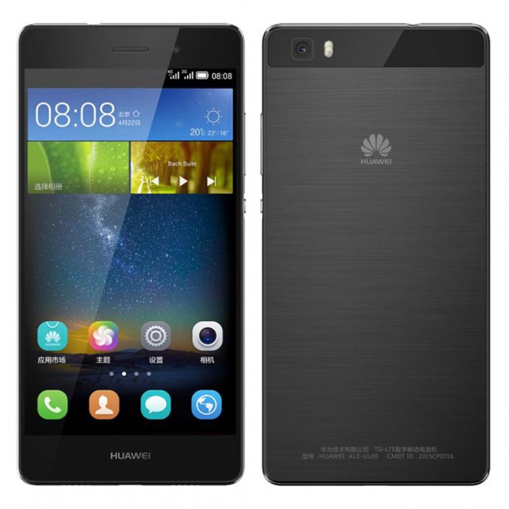 "HuaWei P8 Lite (ALE-L02) 4G LTE Cell Phone Android 5.0 5.0"" IPS 1280X720 2GB RAM 16GB ROM 13MP NFC Black"