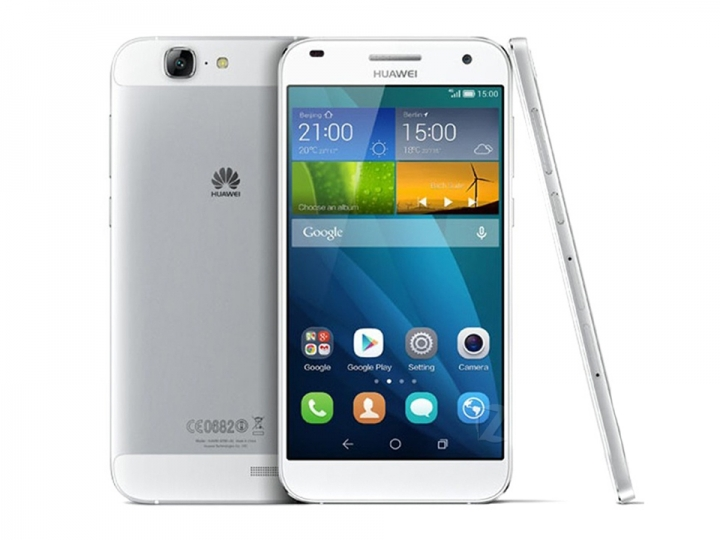 Huawei Ascend G7 4G LTE Cell Phone 5.5Inch MSM8916 Quad Core 2G RAM 16G ROM Android4.4 13.0MP Camera Silver