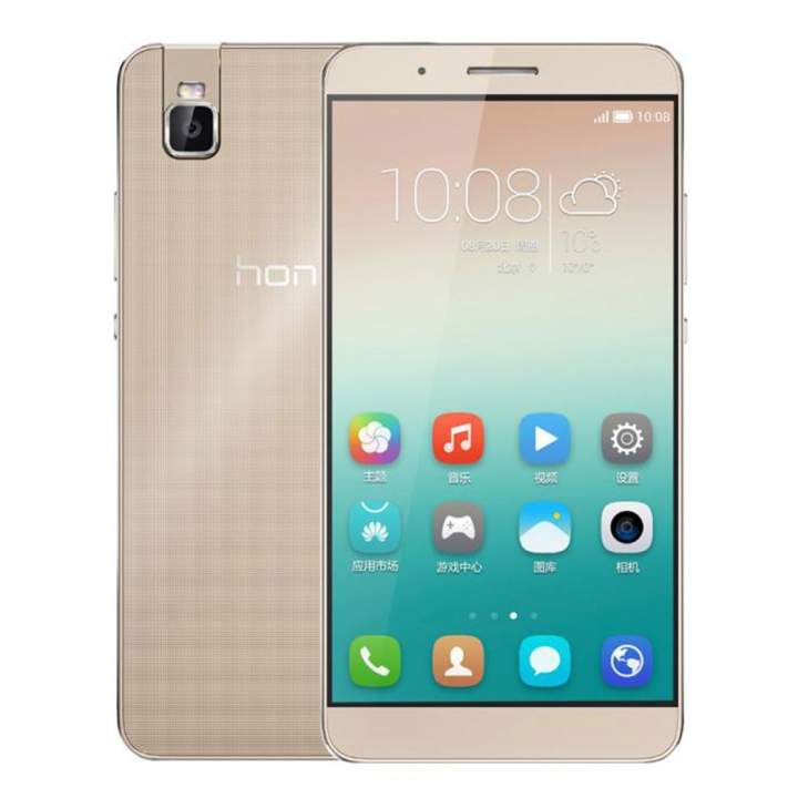 HuaWei Honor 7i Android 5.1 5.2Inch 3GB RAM 32GB ROM 13.0MP Fingerprint 4G Smart Phone gold