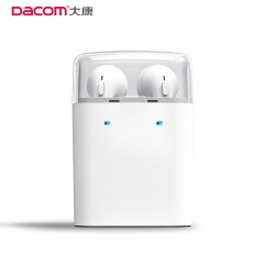 Bluetooth V4.2 True Wireless Earphones TWS Earbuds Stereo Headset Headsfree For iPhone Samsung WHITE WITHOUT BOX