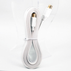 1M High Speed HDMI To HDMI Cables -Supports Ethernet, 1080P, 3D, and Audio Return (White)
