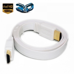 3.3Feet High Speed HDMI To HDMI Cables -Supports Ethernet, 1080P, 3D, and Audio Return (White)