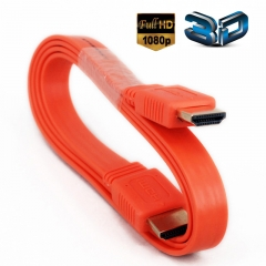 3.3Feet High Speed HDMI To HDMI Cables -Supports Ethernet, 1080P, 3D, and Audio Return (Orange)
