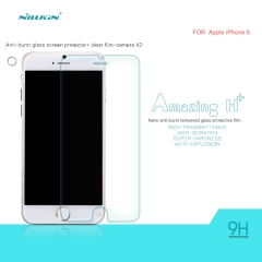 iPhone 6 Screen Protector, H+ Anti-Explosion Tempered Glass Screen Protector for iPhone 6 clear 4.7inch