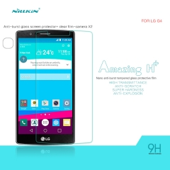 H+ Anti-Explosion Tempered Glass Screen Protector for LG G4 clear H+