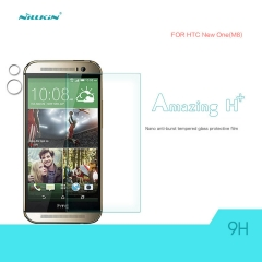 H+ Anti-Explosion Tempered Glass Screen Protector for HTC M8 clear h+