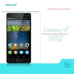 H+ Anti-Explosion Tempered Glass Screen Protector for HUAWEI P8 Lite clear h+