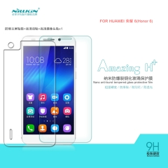 H+ Anti-Explosion Tempered Glass Screen Protector for HUAWEI Honor 6 clear h+