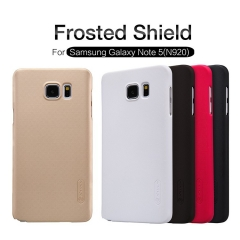 Frosted Shield Matte Plastic Ultra Thin Slim Shockproof Anti-Scratch Case for Samsung Galaxy Note 5 white a
