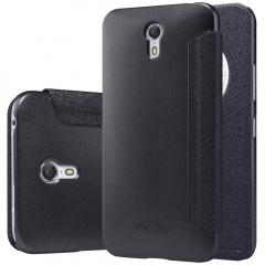 [Sparkle] PU Leather Case Cover Flip Cover PC Back Shell Folio Case for Lenovo ZUK Z1 balck a