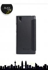 [Sparkle] PU Leather Case Cover Flip Cover PC Back Shell Folio Case for Lenovo P70 balck a