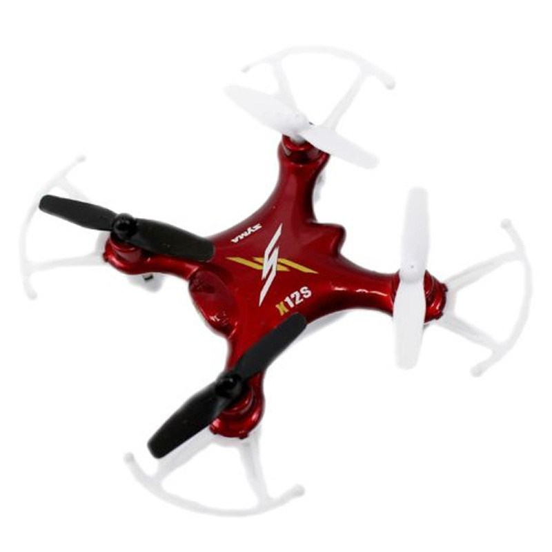 6d5742509dc X12S Nano 6-Axis Gyro 4 Channel 2.4G Transmitter RC Quadcopter with ...