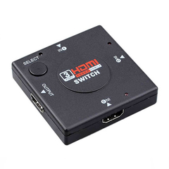 3 Port HDMI Mini Switch Switcher Splitter 3 Input 1 Selector Support 1080p 3D for PS3, STB Player