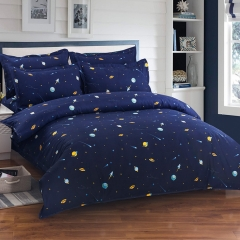 2018 Fall New Four-piece Natural Fashion Bedding Suite 5*6 Vast star sea 5*6