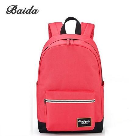 8d334415e5 BAIDA Fashion BackpackLeisure Travel Rucksacks for Girls Teenager ...