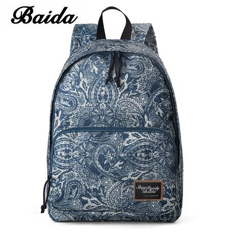 f7bb8da28a Fashion Printing Backpacks Women Canvas Print Pink Backpack Bag blue  normal  Product No  1311611. Item specifics  Brand