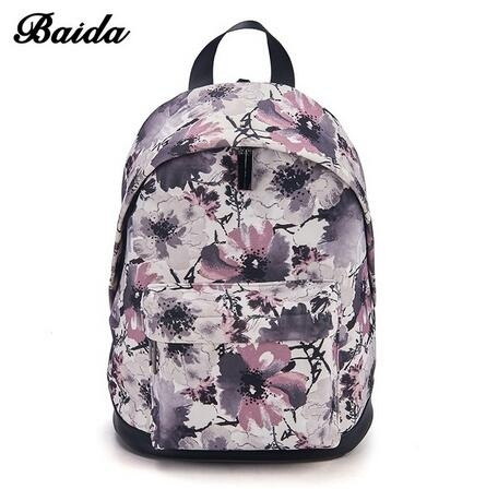 f1bd4dc2de BAIDA Fashion Women Backpacks Cool Floral Print Laptop Travel Leisure  Backpack for Bookbag Rucksack red rose normal  Product No  1322064. Item  specifics ...