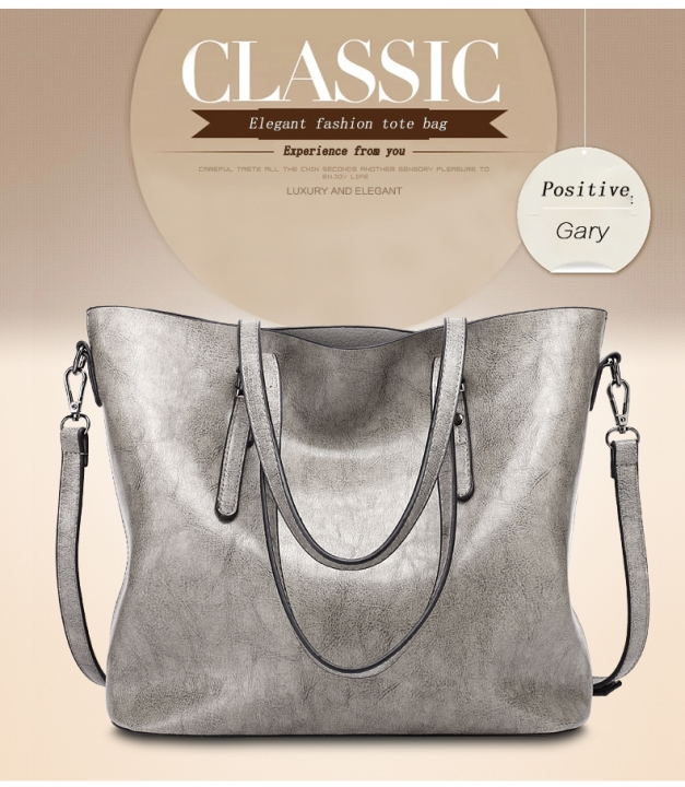 JUMEI 2019 New Fashion Women's Handbags PU Leather Shoulder Bag 5 Colors For Party Wedding Holiday gray s