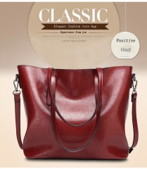 Warmroom New Fashion Bag Women's Handbags Leather Shoulder Bag Five Colors RED s