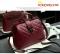 Warmroom 2017 New Retro Doctor Bag Satchel Handbag Shoulder Bag Nubuck Leather SEVEN COLORS claret f