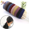 JUMEI 20 Pcs Elastic Hair Bands Women Rubber Band Ponytail Holders Headband Girl Hair Accessories colorful 1#