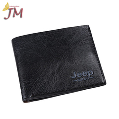 JUMEI 1 Pack Hot Selling Men's Wallet Classical Leather Bags Comfortable Hand Bag Fashion Decoration Black 1#