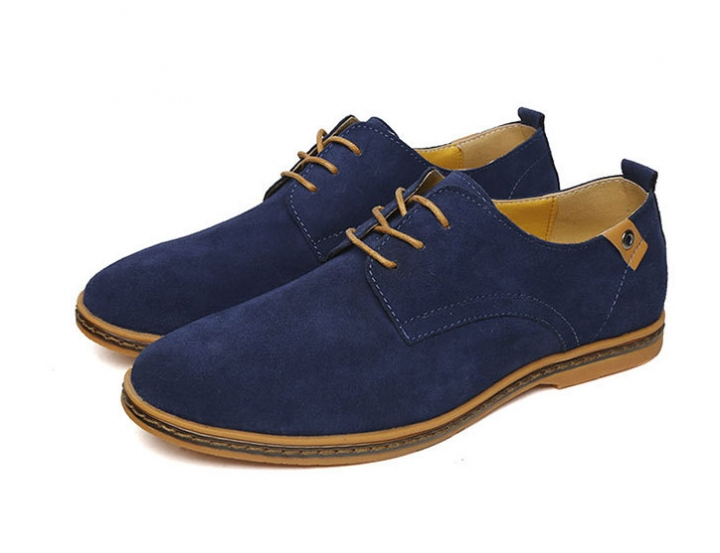Men's fashion casual shoes Purplish blue 38