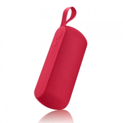 Portable wireless Bluetooth speaker Red normal