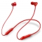 Wireless waterproof sports headset with microphone Red