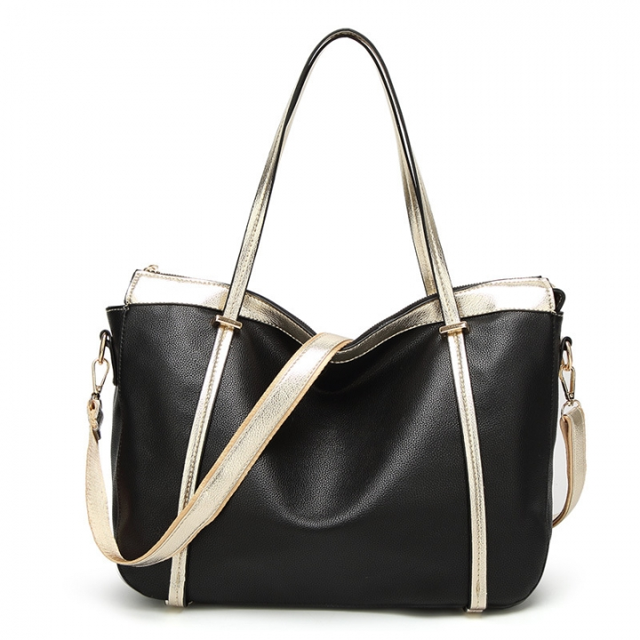 7368d1f406 Fashion Handbags For Ladies Shopping Female Large Capacity Single Shoulder  Women Bag Red And Black black