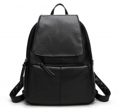 Women  Backpack Vintage College Student School Backpack Bags for Teenagers  Casual Rucksack Daypack black one size
