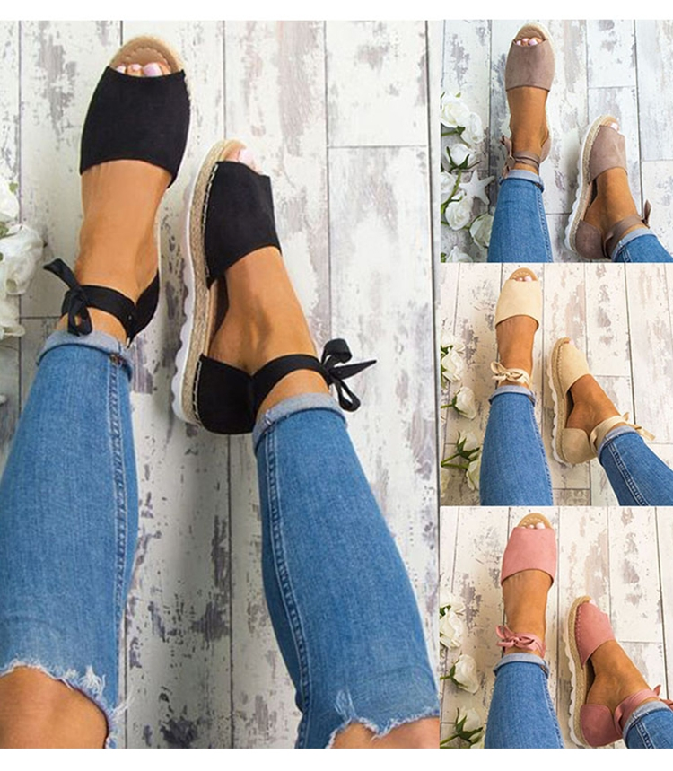 cf604144c5d Women Sandals Fashion Shoes Woman Rome Ankle Strap Flat Sandals Casual Peep  Toe Low Heel Shoes black 35  Product No  1397471. Item specifics  Brand