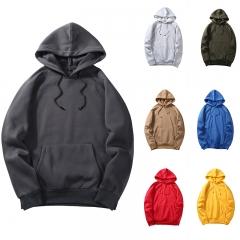 Fashion  Pullover Hoodies Men Women  Sweatshirts Long Sleeve Hooded Sweatshirts Casual Hoodies dark grey S