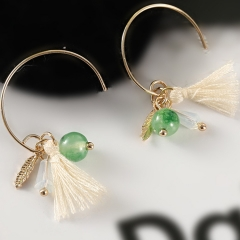 1 Pair/Set Ladies New Beautiful Personality Delicate and compact earrings For Women Jewellery Gift as picture one pair