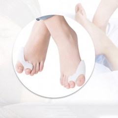 Men Women Kids Hallux valgus orthosis toe appliance silicone insole toe separator Health care 1 pair