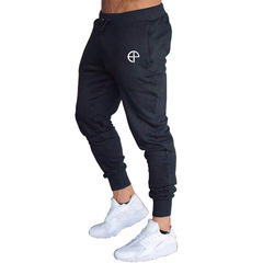 Sports Pants Mens Running Trousers Fitness Football Training Pants Slim Casual  Sweatpants black M