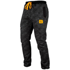 Mens Fashion Sweatpants Camouflage Casual Sports Pants Fitness Trousers Running Training Long Pants black M