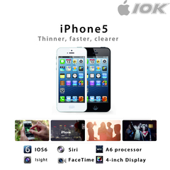 Ready Stock Iphone 5 16GB 32GB Iphone Mobile With Print black 16g