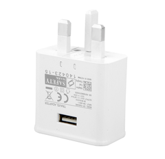 UK Plug Fast Charging Adapter Travel Charger Wall Adapter 5V-2.0A OutputCompatible for 4 5 S6 edge random normal