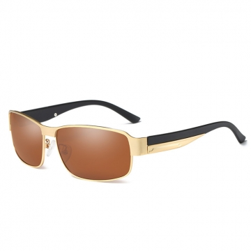 Kilimall: Men\'s fashion classic small frame rode Sunglasses tea/gold ...