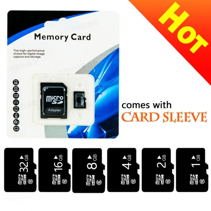 High Speed Memory Card 32GB 16GB 8GB 4GB 2GB More