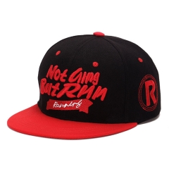Snapback Sunscreen Baseball Cap Fashions Embroidery Spandex Elastic Fitted Hats Hip Hop Sports Men red standard