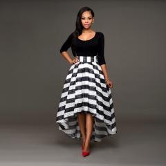 New Model Elegant Women Dress Sleeveless Long Dress xl black