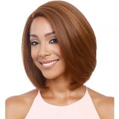 New Lady Bobo Head New Hair Short Fashion Wig gold 13 inches