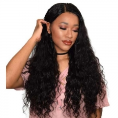 European and American Wig with Short Hair and Fluffy Curls black 28 inches