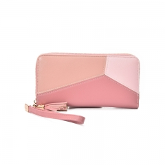 MyAngel Big Capacity Women Wallets Ladies Clutch Female Fashion Leather Bags ID Card Holders pink f