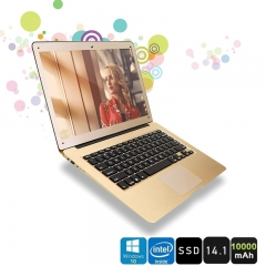 "Brand new Ultra-thin Lapbook PC Laptop Intel Atom 14"" FHD Screen X5 Z8350 64-bit Quad Core notebook gold 4g ram/64 rom"